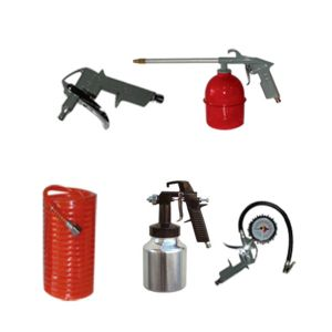 5 PIECES MULTIPURPOSE KIT FOR AIR SUCTION COMPRESSOR (KB-KA5S)